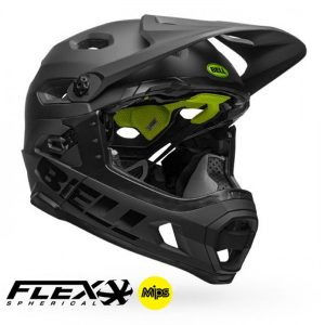 Casco-Bell-Super-Dh-Mips-Flex-Spherical-Mat-Gls-Blk-BELL-CHILE-DISTRIBUIDOR