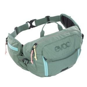 Banano-Evoc-Hip-Pack-3l-Olive-evoc-chile-distribuidor-mtb-enduro-trekking