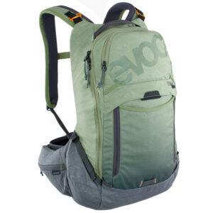 carnivalbikes-Mochila-Evoc-Trail-Pro-16i-Olive-Grey-distribuidor-chile-hidratacion-enduro-mtb-camel-trekking