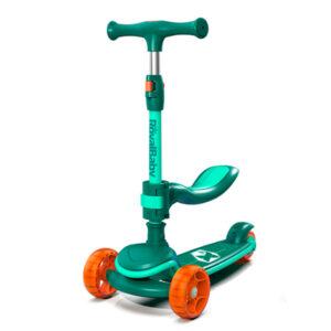 carnivalbikes-Scooter-Chipmunk-Nino-2-En-1-verde-naranjo-royal-baby-chile-distribuidor-navidad-regalo
