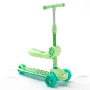 carnivalbikes-Scooter-Chipmunk-Nino-2-En-1-verde-royal-baby-chile-distribuidor-navidad-regalo